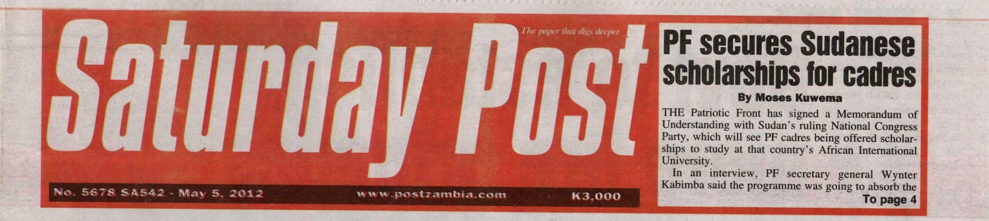zambia press 2